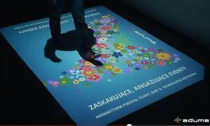 Aplikacja interaktywna Rozsypywanie