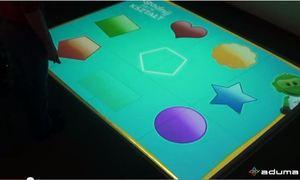 Aplikacja interaktywna Kształty