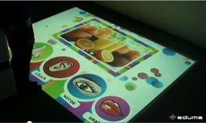 Aplikacja interaktywna Zmysły