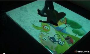 Aplikacja interaktywna Kolorowanki