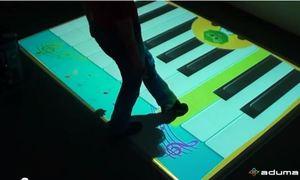 Aplikacja interaktywna Pianino