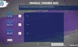 Aplikacja dotykowa Quiz