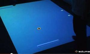 Aplikacja interaktywna Pong