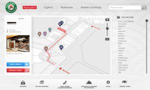 Aplikacja dotykowa Wayfinder